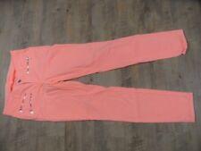 CAMBIO stylische Jeans LALLA ZIP neonorange Gr. 36 TOP KB1117