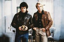David Soul Paul Michael Glaser Starsky & Hutch 11x17 Mini Poster leather jackets