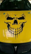 "Skull Hood Decal 24"" vinyl large Graphic sticker Car Truck Boat tailgate window"