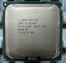 Intel Xeon Dual Core 1.6GHz 4M 1066 Socket 771 SL9RZ 5110 Procesador CPU