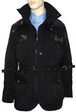'GOLD SPUN' Premium Designer Coat- Fully Detailed Color Black  Size: Small