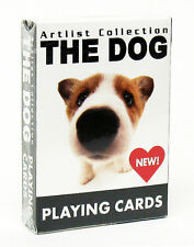 1 Deck The Dog Playing Cards Bicycle Artlist Collection 54 breeds new poker
