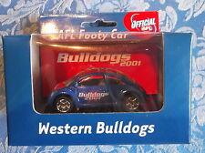 AFL Western Bulldogs Beetle Footy Car