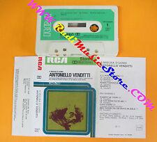 MC ANTONELLO VENDITTI A misura d'uomo 1976 italy RCA LINEATRE no cd lp dvd vhs