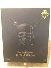 Hot Toys Jack Sparrow DX06 Figure 1/6 Scale Sideshow Exclusive with Telescope