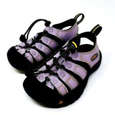KEEN Girls Sz 11 Waterproof Sandals Shoes Little Kids Purple Water Beach Shoes