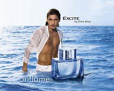 """Oriflame Men Fragrance """"Excite"""" by Dima Bilan Eau de Toilette 75 ml Sweden"""