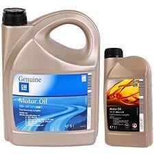 5W-30 6 Liter Opel GM dexos2 Motoröl 5w30 1942003 1942042 Motor Öl 6L