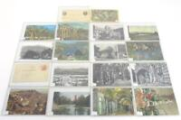 Lot of 18 Vintage Postcards - US, Italy, Ireland, Switzerland, Portugal