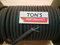 7mm SUPPRESSION CORE SPARK PLUG WIRE ignition sold by foot SOLID BLACK stock