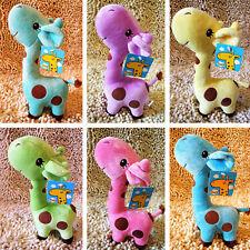 New Cute Lovely Giraffe Soft Plush Stuffed Toys Animal Dear Doll Kids Baby Gift