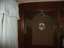 Timberland t-shirt brown long sleeve nature & city with ducks size XL/TG NEW