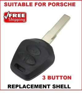 3B Remote Car Key Fob Shell Suitable For Porsche Boxster  986 911 996  CAYENNE