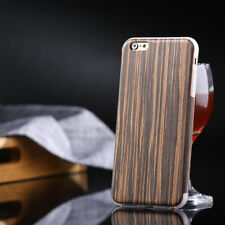 Easyacc Bamboo Wood Flip Case For Apple iPhone6 Natural Wooden Back Cover