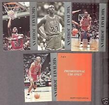 1992 Krown Michael Jordan Promo Set of Four, Silver
