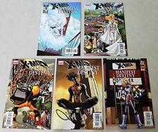 Marvel: X-Men: Manifest Destiny (2008) #1-5 COMPLETE SET