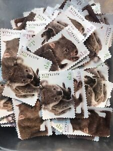 Australian $1.10 x 200 Postage Stamps Unfranked Face Value $220 Off Paper