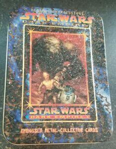Star Wars Dark Empire II: Embossed Metal Collector Card Set of 6