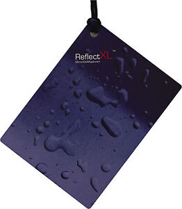 ReflectXL by Mirror On A Rope Wet Steel Large Mirror