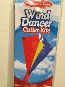 NEW Melissa & Doug Wind Dancer Cutter Kite Premium Ripstop and Fiberglass Struts