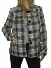 Unbranded Check Wool Outer Shell Coats, Jackets & Waistcoats for Women