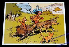 YAKARI castor loup chien prairie traineau AFFICHE chambre poster indien enfant
