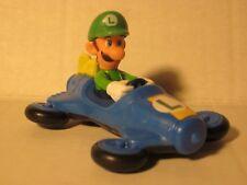 "Luigi Mario Kart 3"" Figure Super Mario Bros. Hero Vehicle McDonalds 2014 Toy Fun"