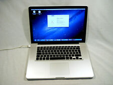 "Apple MacBook Pro 15"" Core 2 Duo@2.66GHZ 4GB-RAM 320GB-HDD MB985LL/A 2009"