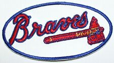 Atlanta Braves Baseball Embroidered Iron Patch - Free Shipping