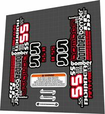 MARZOCCHI Bomber 55 R Fork Sticker / Decal Set