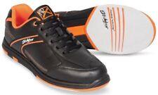 Mens KR Strikeforce Black/Orange Flyer Bowling Shoes Size 7