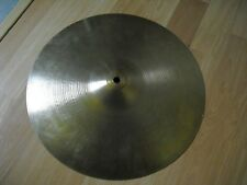 "14"" Vintage 70s Hollow Logo Avedis Zildjian Bottom Rock HiHat Hi Hat Cymbal"