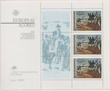 Europa CEPT 1982 Historische gebeurtenissen Azoren Blok 3 - cat waarde € 6