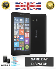 Brand New Microsoft Nokia Lumia 640 LTE 4G Sim-Free Black Unlocked 8GB Quadcore