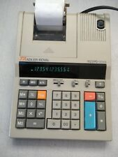 Used Ta-Royal 1122Pd Calculator 12 digit 2 color, missing paper arms, w/warranty