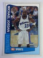 2003 All Sports Magazine Card Michael Jordan, Washington Wizards, Perforated