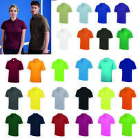 AWDis Just Cool Polo - Men's polyester performance/training/sports Top |S-5XL