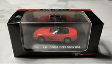 High Speed 1:64 Dodge Viper RT 10 2003 Red Convertible BOXED RARE