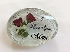 I LOVE YOU MUM (HAND MADE WITH REAL ROSES)