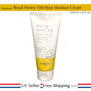 Skinfood Royal Honey 100 Hour Moisture Cream 100g + Free Sample [ US Seller ]