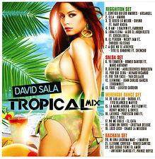 DJ David Sala Tropical Mix 2016 Latino Mescla (Mix CD) Mixtape