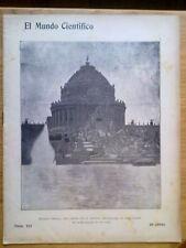 ANTIGUA REVISTA AÑO 1904 MUNDO CIENTIFICO,SORPRENDENTES NOTICIAS,PUBLICIDAD.237