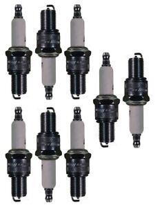 Set Of 8 Spark Plugs AcDelco For Aston Martin Lagonda Monteverdi 375 450 SS V8