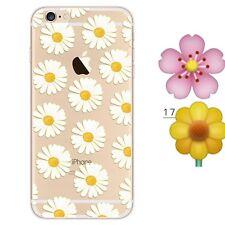 iPhone SE/5s/5 Cover Hülle Case Bumper Silikon TPU Schutzhülle Motiv 17  Aus🇩🇪