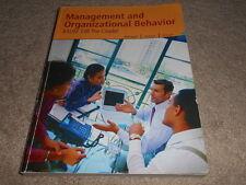 Management and Organizational Behavior BADM 338 The Citadel