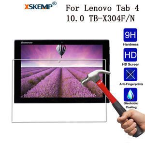 Film Coverage Tempered Glass Screen Protector For Lenovo Tab 4 10.0 TB-X304F/N