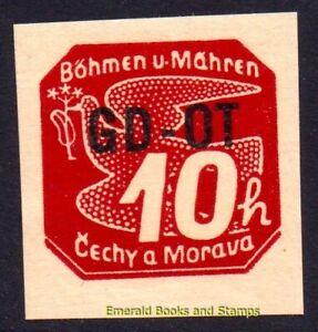 EBS Bohemia and Moravia 1939 - Printed Matter - GD-OT - Michel 51 MNH**