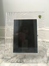 Waterford Crystal Picture Frame-5x7 New In Box