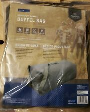 """Stansport Olive Drab Green Cotton Canvas Military Top Load Duffel Bag 42x12x12"""""""