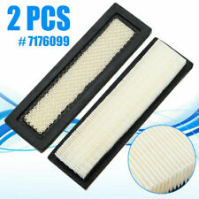 2pcs Set Air Filter Parts # 7176099 For Loaders S510 S530 S550 S570 S590 S595 US